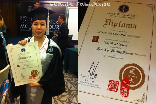 Mastery Academy Feng Shui Graduation