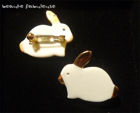 Bunny Brooch 4